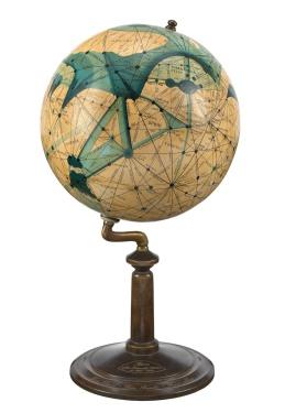 Mars efter Lowell's Glober by Emmy Ingeborg Brun ZBA5460