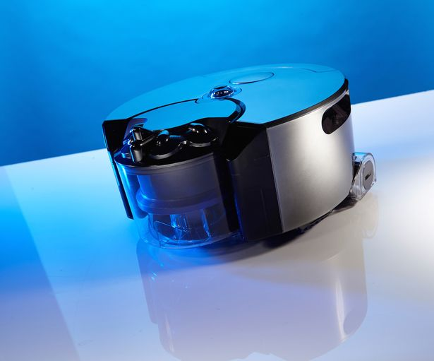 Dysons-360-Eye-robot-vacuum-cleaner-is-displayed-at-its-unveiling