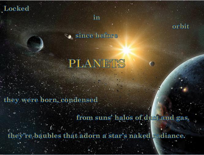 Fibonacci planets